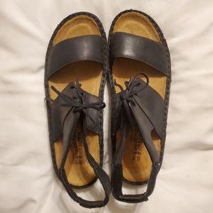 NAOT Dessert Sandals Size 9